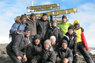 Træning til Kilimanjaro trekking